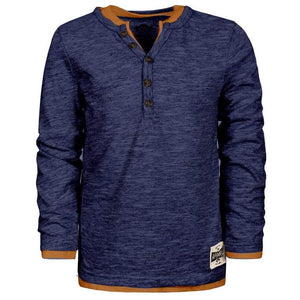 Appaman Apparel 5 / Dark Navy Appaman Dark Navy Camden Long Sleeve Shirt