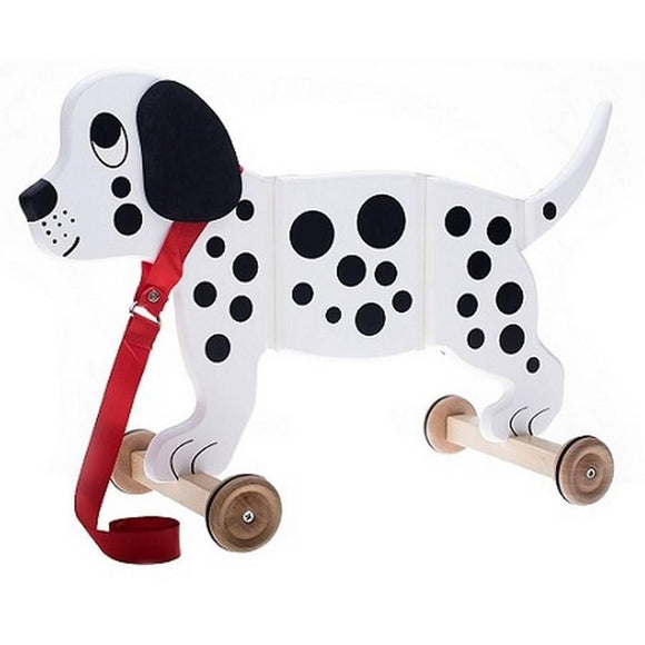 Applepie Toys Pull Along Pal Spotty Dog-Toys-Babysupermarket