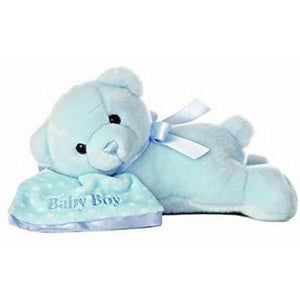 Aurora Wind Up Sleeping Comfy Bear-Toys-Babysupermarket
