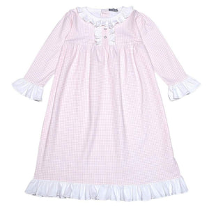 Baby Bliss Apparel 2 Toddler / Pink Gingham Baby Bliss Pink Gingham Night Gown
