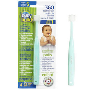 Baby Buddy Soft 360 Toothbrush-Baby Care-Babysupermarket