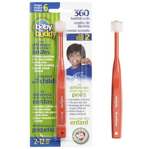 Baby Buddy Medium 360 Toothbrush-Baby Care-Babysupermarket