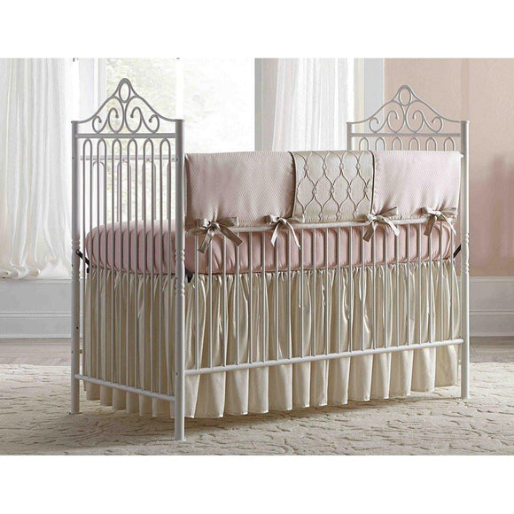 Baby's Dream Furniture Angelica Iron Baby Bed-Furniture-Babysupermarket