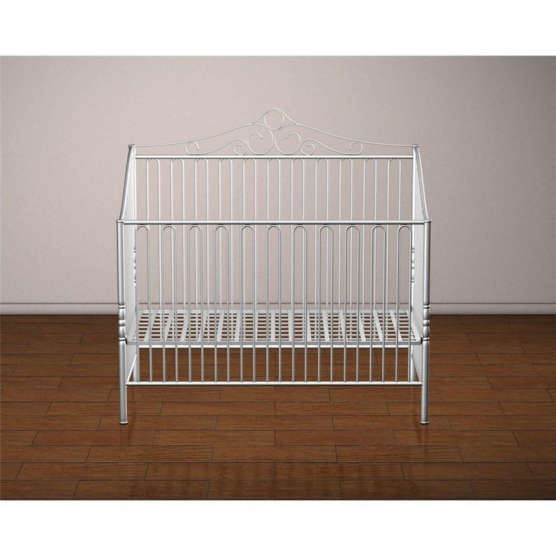 Baby 39 S Dream Furniture Savannah Iron Baby Bed