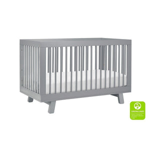 Babyletto Hudson Crib Grey-Furniture-Babysupermarket