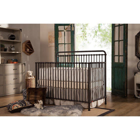 Franklin & Ben Winston 4 in 1 Iron Convertible Crib Vintage Iron-Furniture-Babysupermarket