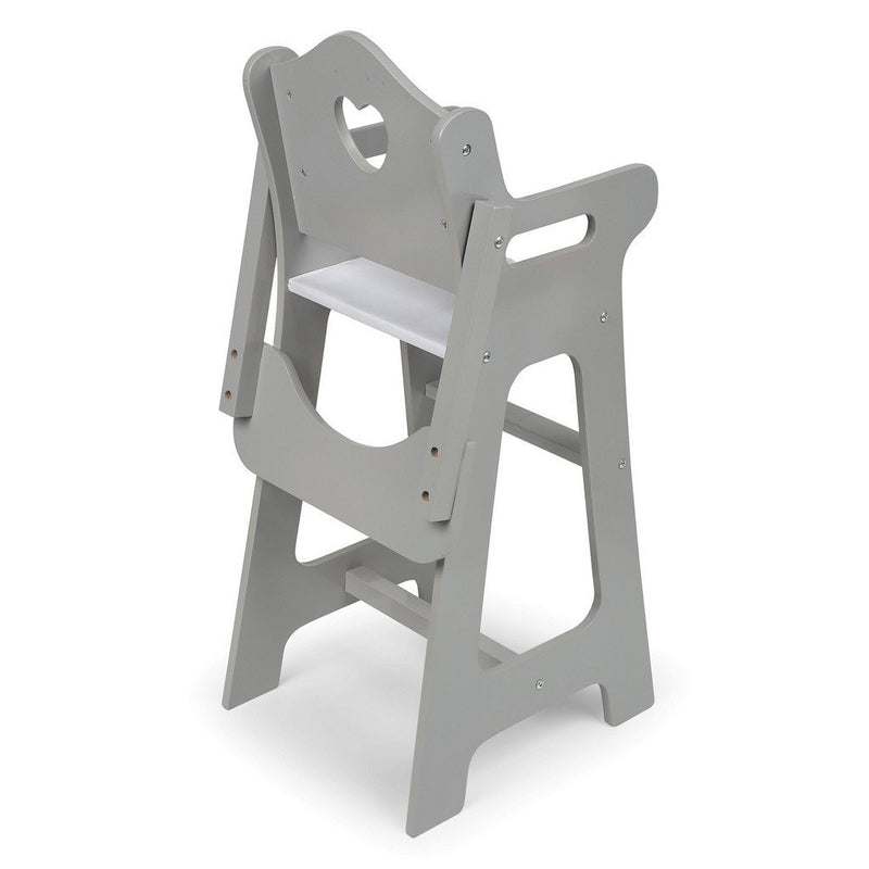 ... Badger Basket Dolls Badger Basket Executive Gray Doll High Chair ...