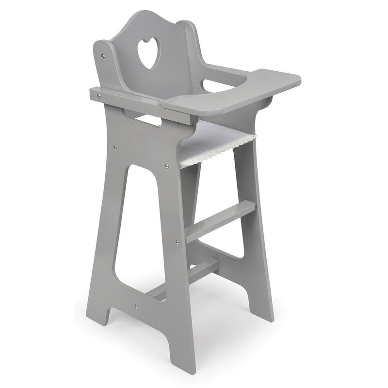 ... Badger Basket Dolls Badger Basket Executive Gray Doll High Chair