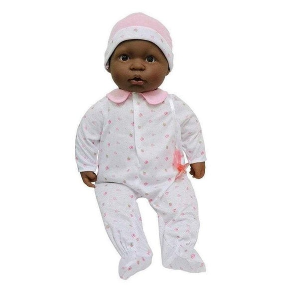 JC Toys Dolls Berenguer Boutique La Baby Soft Baby Doll with Pacifier African American