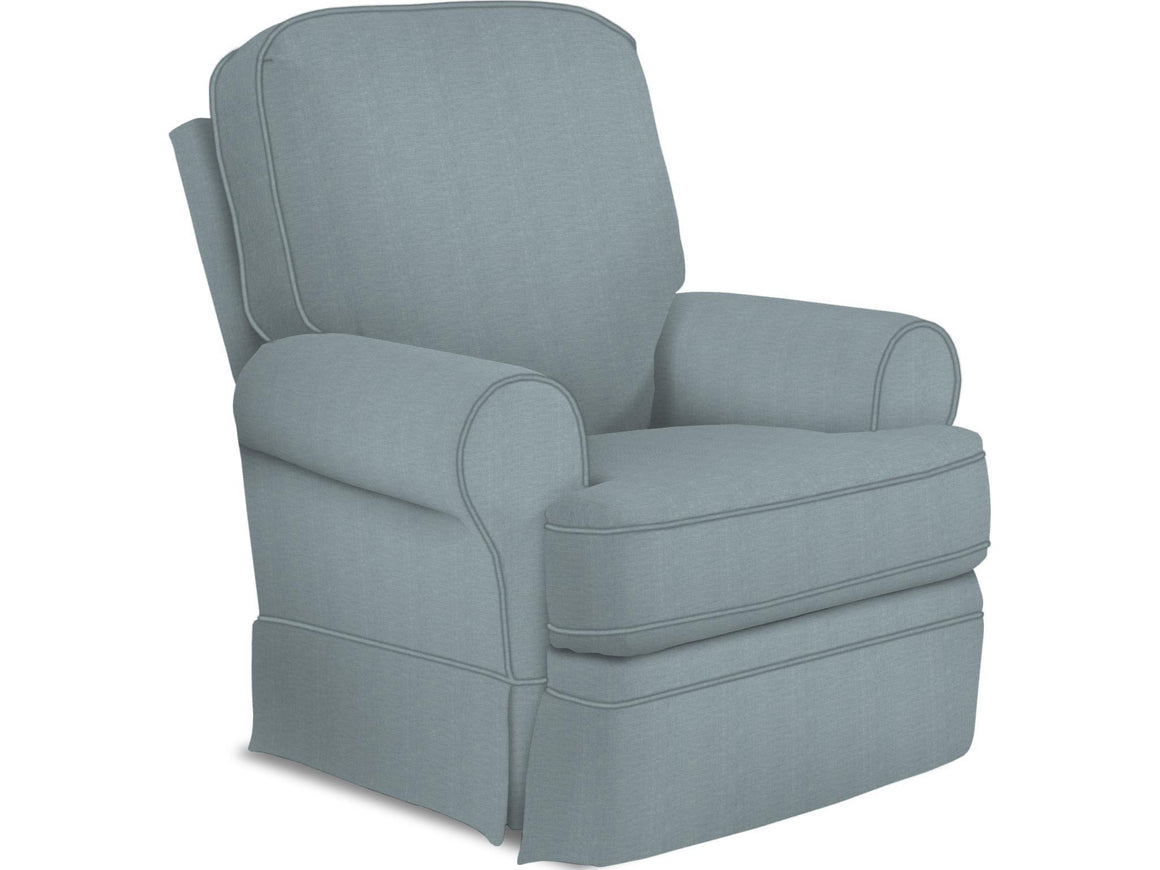 Best Furniture Ultra Marine Best Storytime Juliana Glider Recliner