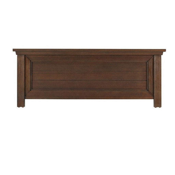 BIVONA Furniture Bivona Dolce Babi Lucca Low Profile Footboard Weathered Brown