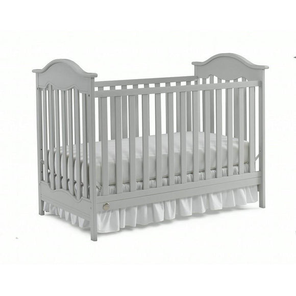 Fisher-Price Charlotte Crib Misty Grey-Furniture-Babysupermarket