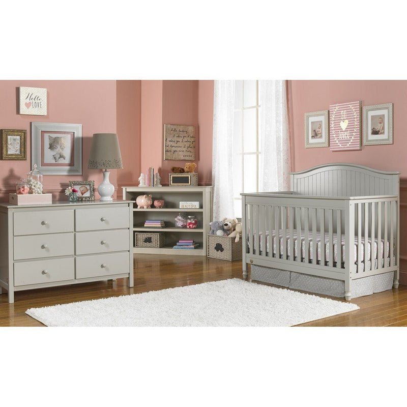 Fisher Price Del Mar Convertible Baby Crib Misty Grey