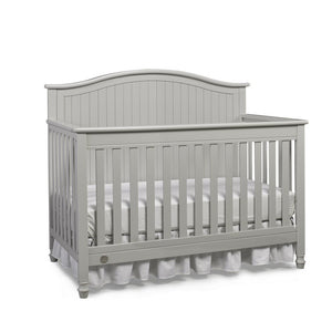 Fisher-Price Del Mar Convertible Baby Crib Misty Grey-Furniture-Babysupermarket