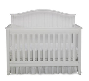 Fisher-Price Del Mar Convertible Baby Crib Snow White-Furniture-Babysupermarket