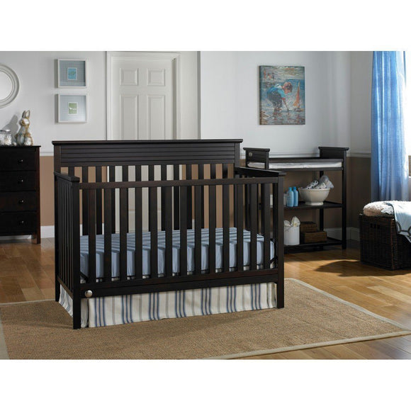 Fisher-Price Newbury Convertible Crib Espresso-Furniture-Babysupermarket