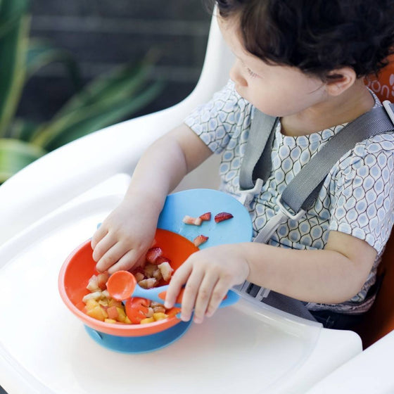 Boon Baby Care Boon Catch Toddler Bowl with Spill Catcher