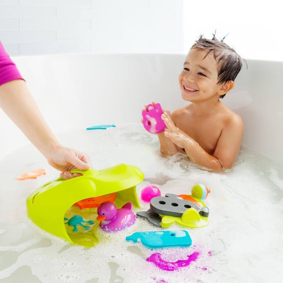 Boon Frog Pod Bath Toy Scoop-Baby Care-Babysupermarket