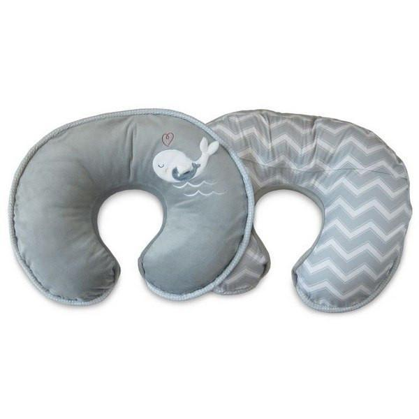 Boppy Baby Care Ring Toss Gray Boppy Luxe Pillow