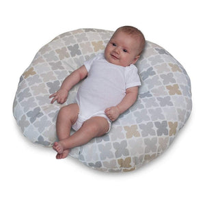 Boppy Baby Care Gray/Taupe Four Square Boppy Newborn Lounger