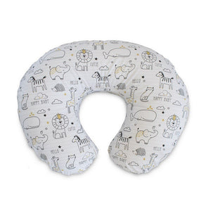 Boppy Baby Care Notebook Black and Gold Boppy Slipcovered Pillow