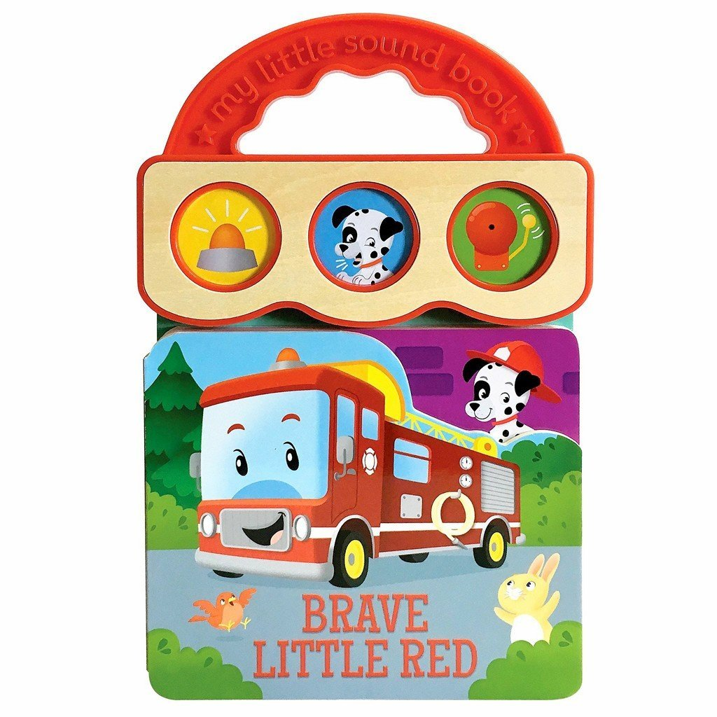 Cottage Door Press Gifts & Apparel Brave Little Red Children's 3 Button Sound Book