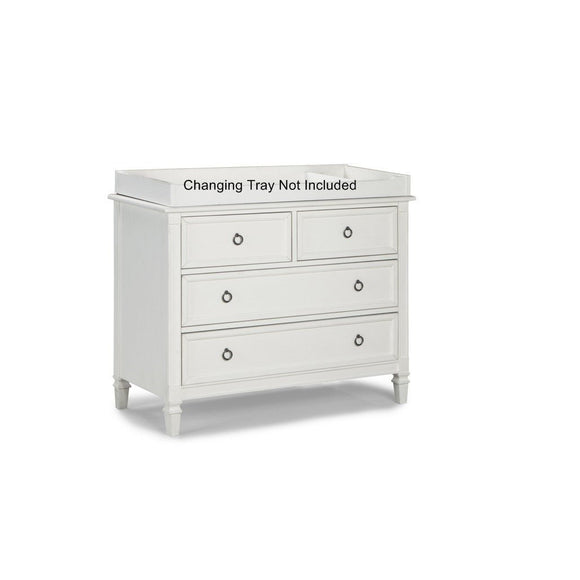 Brixy Haven 4 Drawer Nursery Single Dresser-Furniture-Babysupermarket