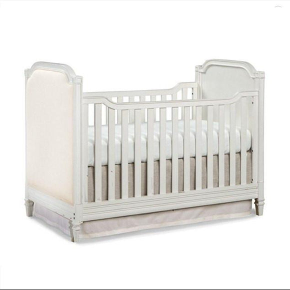 Brixy Haven Cottage Upholstered Crib-Furniture-Babysupermarket