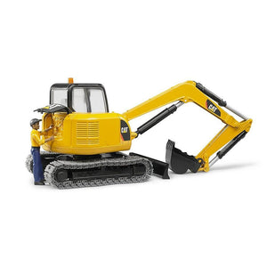 Bruder Toys Bruder CAT Mini Excavator with worker
