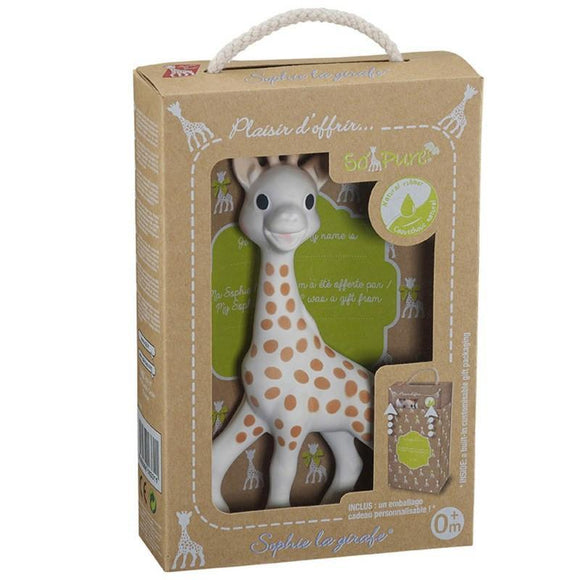 Vulli Sophie la Girafe So'Pure Box-Gifts & Apparel-Babysupermarket