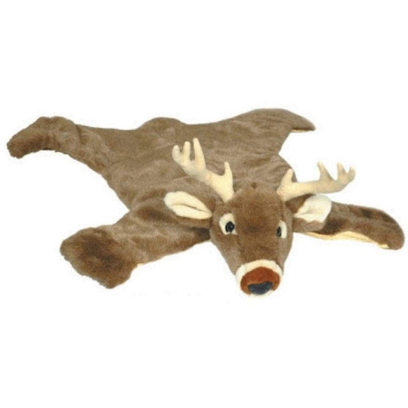 Carsten Nursery Decor Carsten Small Deer Rug for Baby Boy Nursery