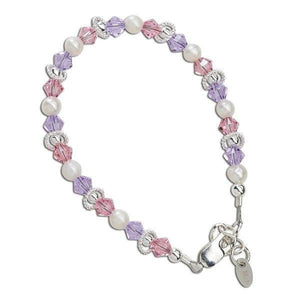 Cherished Moments Natalee Sterling Silver Infant Bracelet-Gifts & Apparel-Babysupermarket