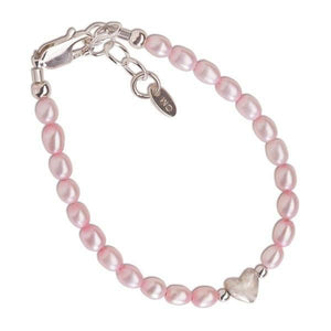 Cherished Moments Destiny Sterling Silver Pink Infant Bracelet-Gifts & Apparel-Babysupermarket