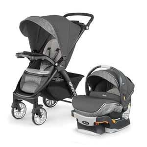 Chicco Baby Gear Chicco Bravo LE Trio System Stroller with Carseat Silhouette