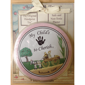 Child To Cherish Buttermilk Farm Handprint Tin-Gifts & Apparel-Babysupermarket