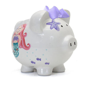 Child to Cherish Mermaid Piggy Bank-Gifts & Apparel-Babysupermarket