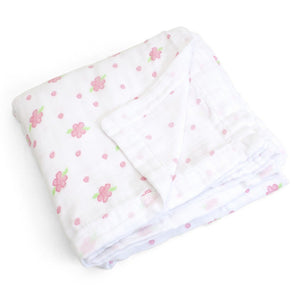 Child to Cherish Gifts & Apparel Child to Cherish Goldilocks Blanket Rosebuds and Dots Pink