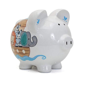 Child to Cherish Gifts & Apparel Child to Cherish Noah's Ark Ceramic Money Bank