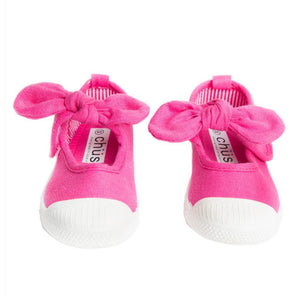 Chus Gifts & Apparel 11 / Fuschia Chus Athena Bow Shoe Fuschia