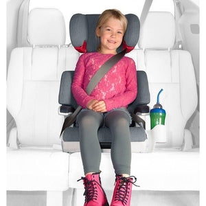 Clek oobr Full Back Booster Car Seat Thunder-Baby Gear-Babysupermarket