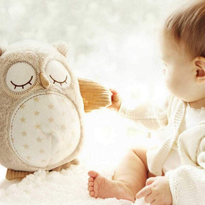 Cloud B Toys CloudB Nighty Night Owl Smart Sensor Sound Machine for Baby