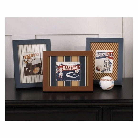 Cocalo Nursery Decor Cocalo Couture Cooperstown 3 Pack Picture Frames