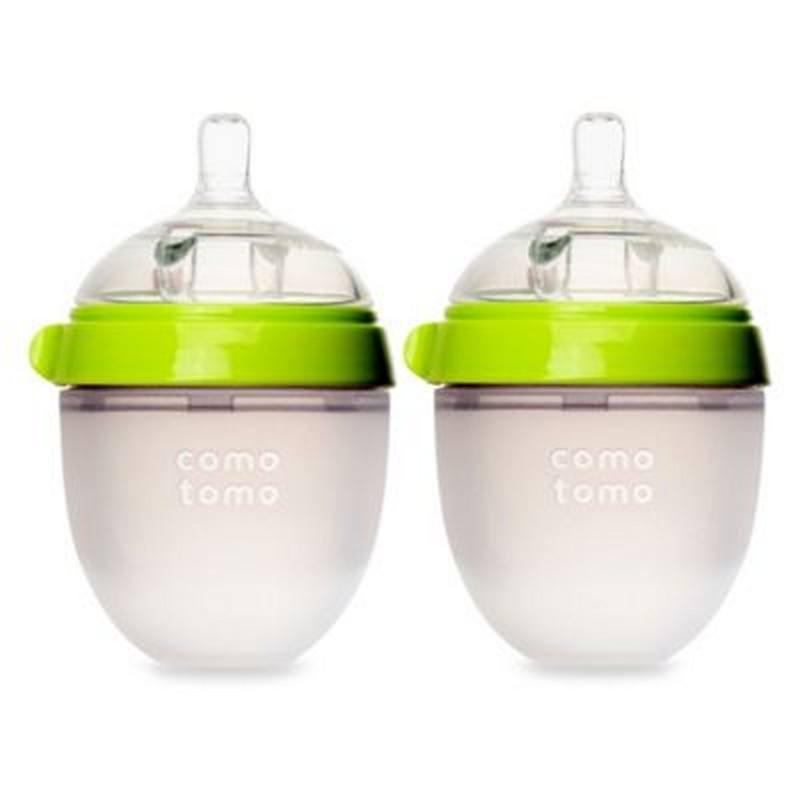 ComoTomo Natural Feel Baby Bottle 2 Pack-Baby Care-Babysupermarket