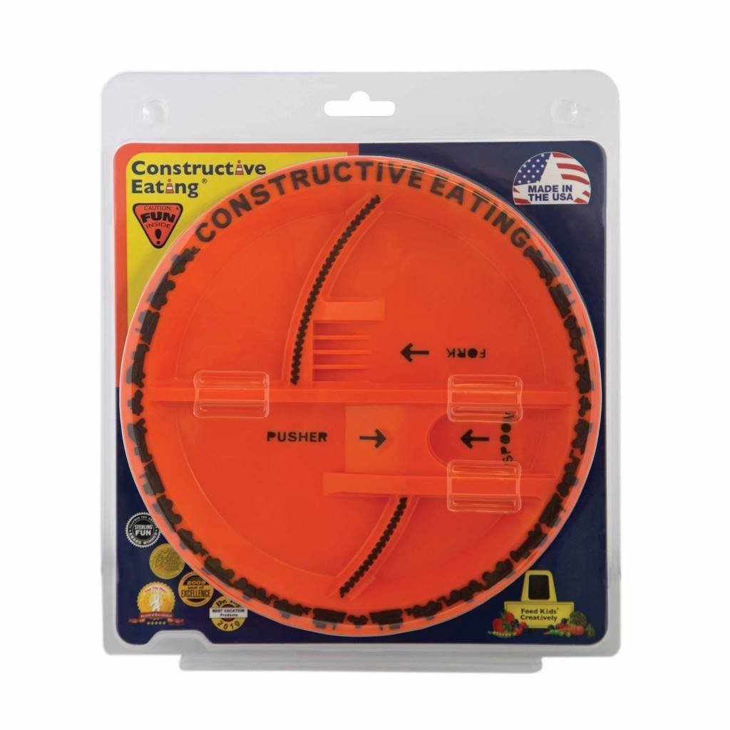 Constructive Eating Construction Plate-Toys-Babysupermarket