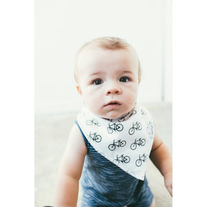 Copper Pearl Hidden Copper Pearl Baby Bandana Bib Cruise Bicycle