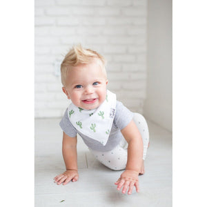 Copper Pearl Hidden Copper Pearl Baby Bandana Bibs Phoenex Green Catcus