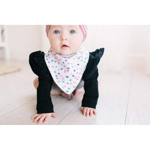Copper Pearl Baby Care Copper Pearl Sassy Hearts Bandana Bib