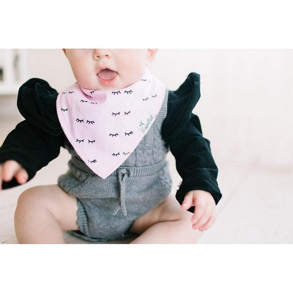 Copper Pearl Baby Care Copper Pearl Sassy Lashes Bandana Bib