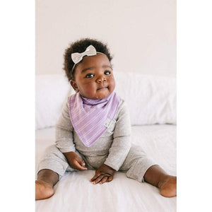 Copper Pearl Baby Care Copper Pearl Sassy Lilac Bandana Bib
