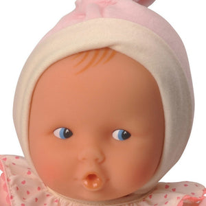 Corolle Babipouce Pink Striped Play Baby Doll-Dolls-Babysupermarket